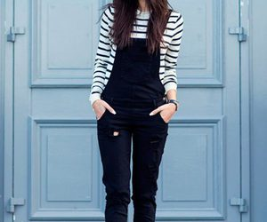 black, streetstyle, and fashion image
