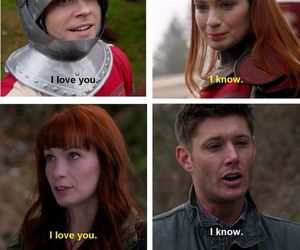supernatural, charlie, and dean winchester image