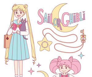 anime, sailor moon, and cute image