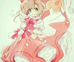 anime girl, fan art, and kero image