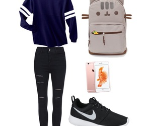 fashion, tumblr, and outfit image