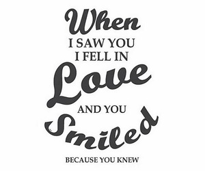 love and smile image