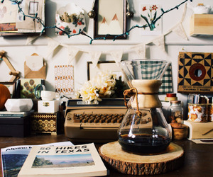 coffee, home, and vintage image