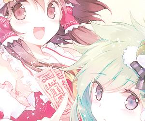 anime and touhou image