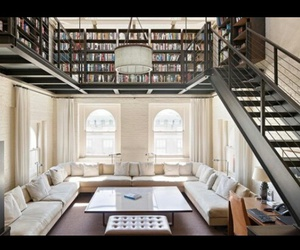 books, interior, and design image