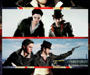 Collage, jacob frye, and evie frye image
