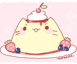 yummy and food kawaii image