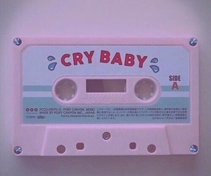 pink, melanie martinez, and cry baby image