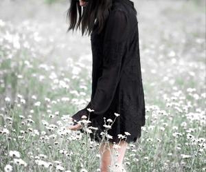 bohemian, fashion blogger, and lace dress image