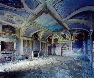 palace, abandoned, and house image