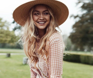 gigi hadid, model, and smile image