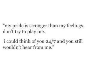 quote, pride, and love image