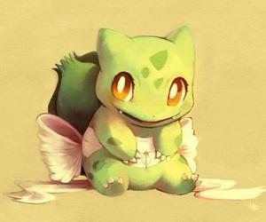 pokemon, cute, and bulbasaur image