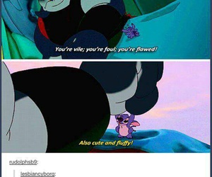 tumblr, funny, and stitch image