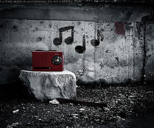 music, photography, and radio image