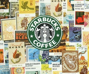 starbucks, coffee, and wallpaper image