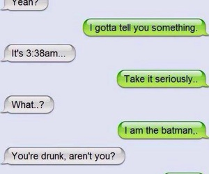 batman, drunk, and funny image