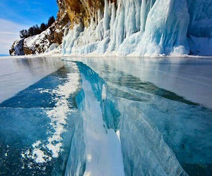 ice, nature, and russia image