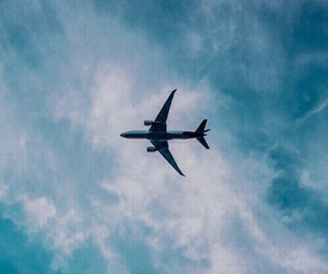 sky, travel, and blue image