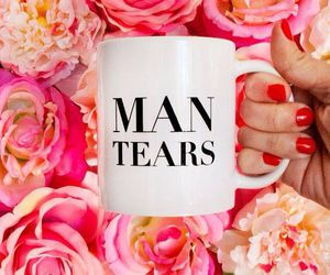 coffee, man tears, and cup image
