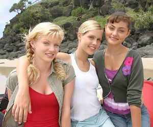 cleo, claire holt, and rikki image