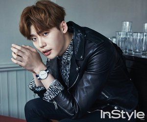 lee jong suk, actor, and instyle image