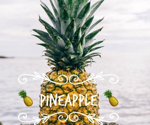 pineapple and wallapaper image