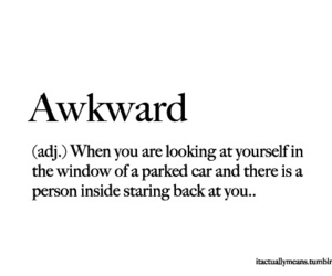 quote, awkward, and funny image