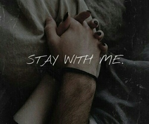 couples, love, and stay with me image