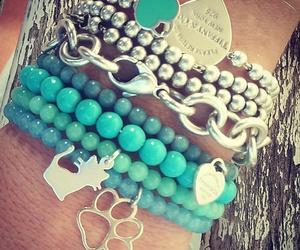 bracelet, cat, and tiffany image