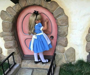 alice in wonderland, girl, and cute image