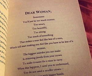 woman, quotes, and crown image