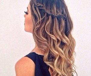 curls, hair, and style image