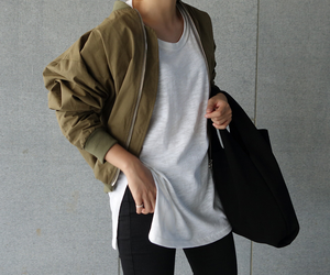 fashion, clothes, and minimalism image