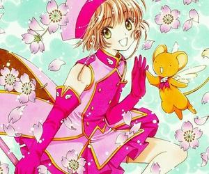 manga and sakura card captor image
