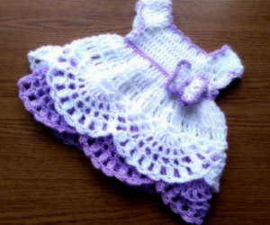 baby clothes, etsy, and white dress image
