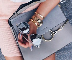 bag, fashion, and glasses image