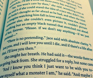 quote, clary fray, and clace image