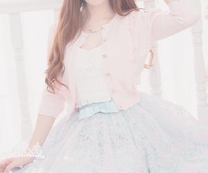 fashion, pastel, and dress image