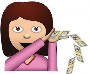 money girl emoji image