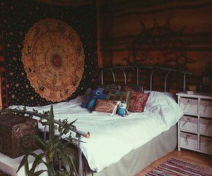 room, hippie, and inspiration image