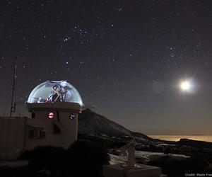 amazing, galaxy, and moon image