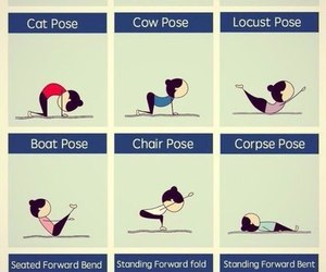 yoga, fitness, and workout image
