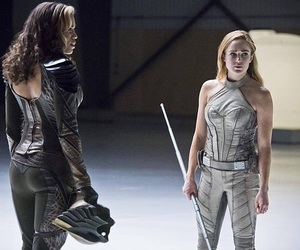 legends of tomorrow, white canary, and caity lotz image