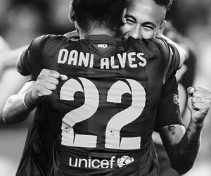 Barcelona, neymar, and dani alves image