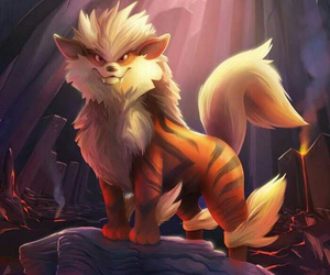 pokemon and arcanine image