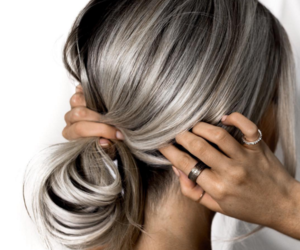 beautiful, grey, and blond image