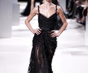 elie saab, black, and dress image