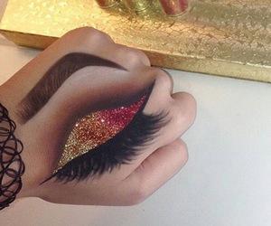 art, style, and eye image