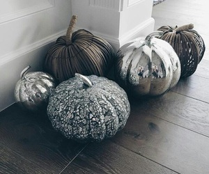 pumpkin, Halloween, and silver image